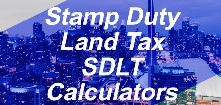 Stamp Duty Land Tax SDLT Calculators