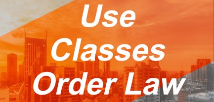 use-classes-order-law