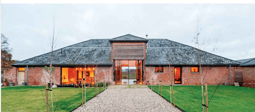 commercial agricultural building conversion into home