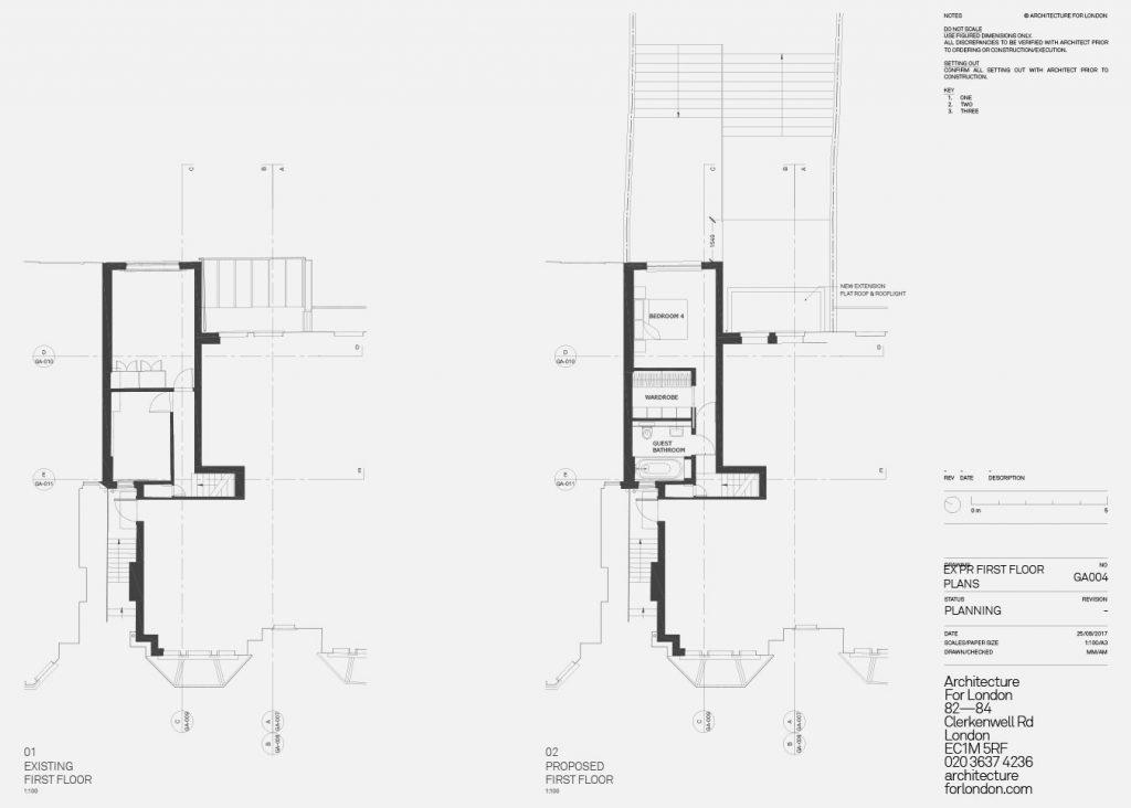 planning drawing